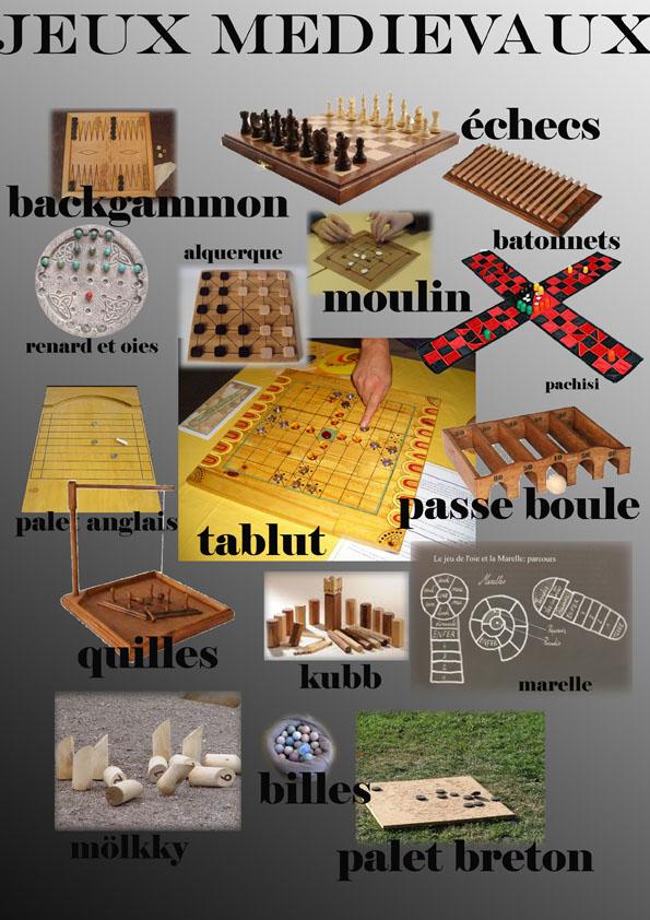 jeux medievaux