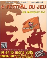 Festival du jeu de Montpellier 14-15 mars 2015