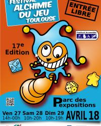 Alchimie du Jeu à Toulouse 27-29 Avril 2018